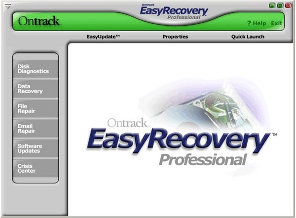 easyrecovery pro 6.06破解版截图