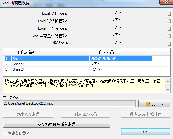 Accent Excel Password Recovery(Excel密码破解工具)
