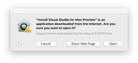 Visual Studio for Mac 2019破解版安装步骤2