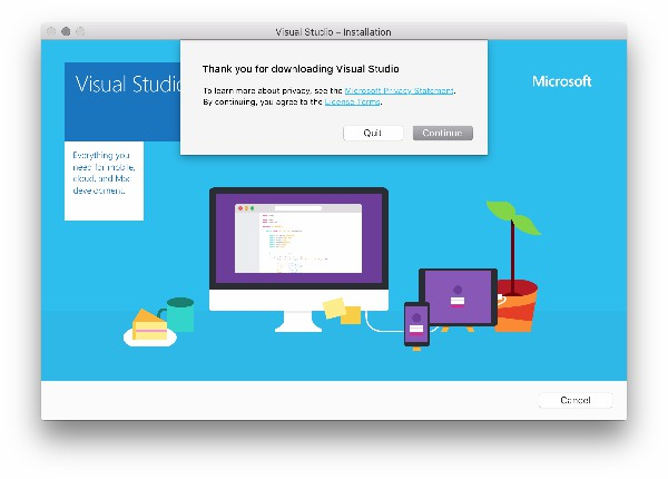 Visual Studio for Mac 2019破解版安装步骤3