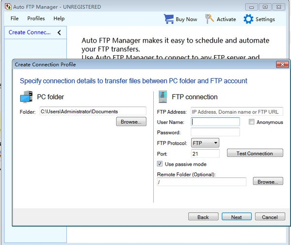 Auto FTP Manager官方版