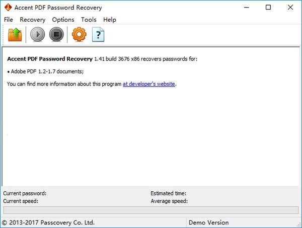 Accent PDF Password Recovery下载