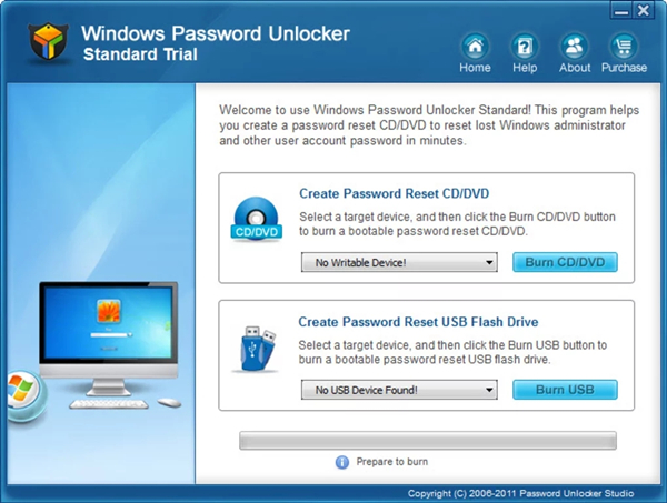 Windows Password Unlocker免费版