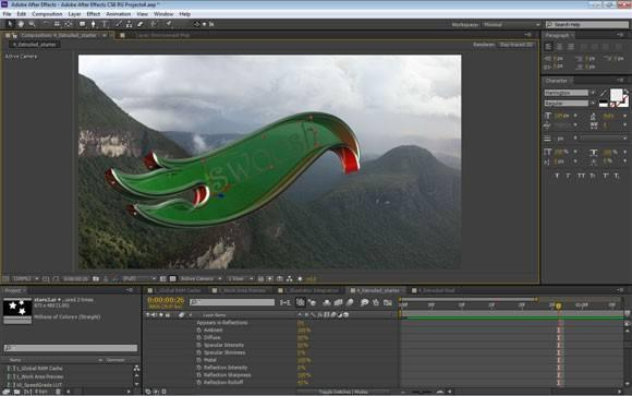 After Effects cc2021破解版截图